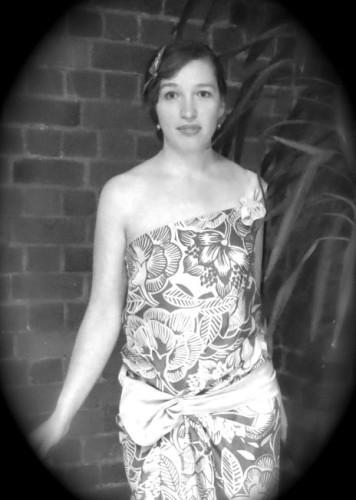 Hula Goddess 1924 dress thedreamstress.com