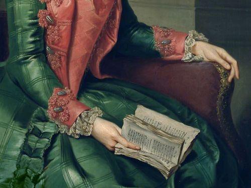 Princess Frederika Sophia Wilhelmina of Orange by Johann Georg Ziesenis, 1768-69