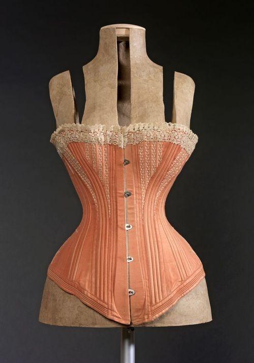 Corset, 1870-1880