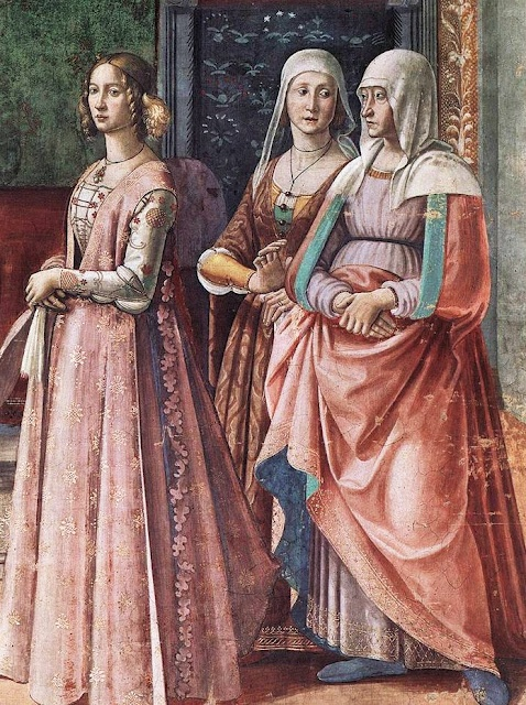 Domenico Ghirlandaio (Italian artist, 1449–1494) Detail from Birth of St John the Baptist