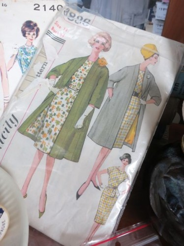 Vintage Simplicity 3836 pattern thedreamstress.com