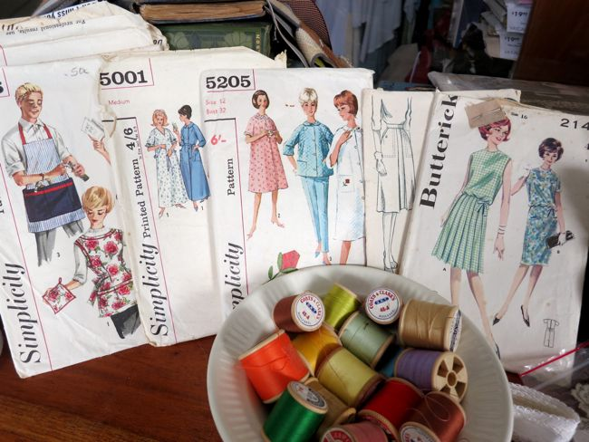 Vintage patterns thedreamstress.com