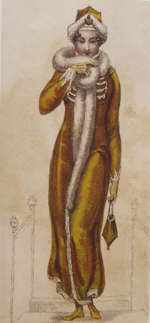 Walking outfit, Ackerman's Repository, Vol. 5, Feb. 1, 1811