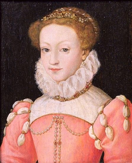 Mary Queen of Scots, 1553, François Clouet