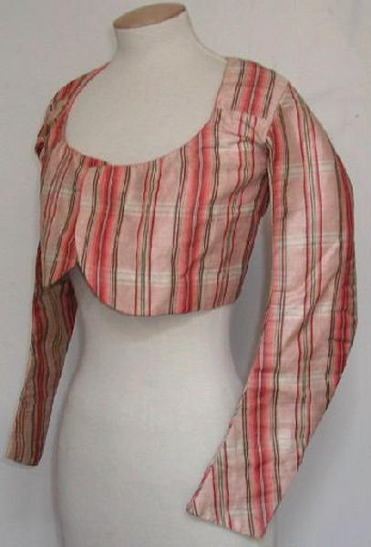 Silk taffeta jacket, 1st quarter of 19th century, France