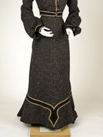 Walking suit, 1902, wool, Met