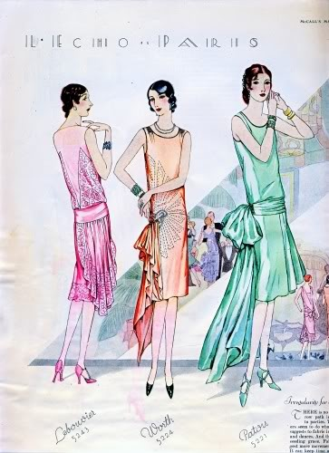 Gatsby frocks and garden party frocks 20s 30s dress for Garden design 1920 s