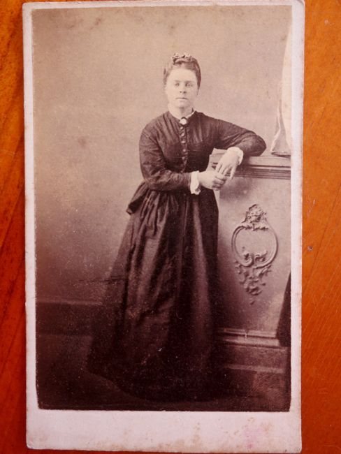 Unidentified woman, late 1860s, thedreamstress.com