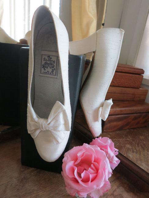 Wedding shoes thedreamstress.com