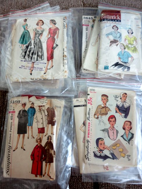 Storing and caring for vintage patterns thedreamstress.com