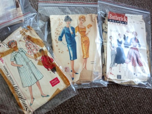 Storing and caring for vintage patterns thedreamstress.comStoring and caring for vintage patterns thedreamstress.com