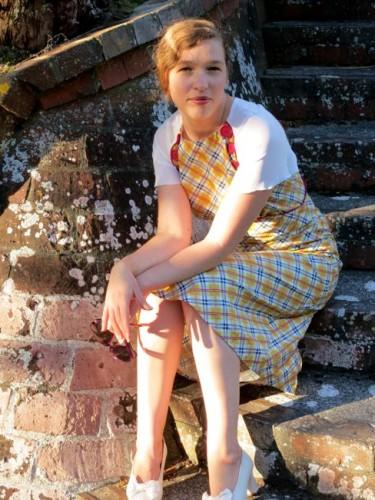 1930s Bad Plaid dress thedreamstress.com