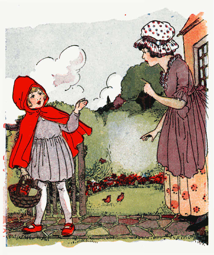 Little Red Riding Hood from Project Gutenberg