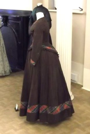Dress, late 1860s, Shippensburg University Fashion Collection, as featured in 'Our New Old Clothes'