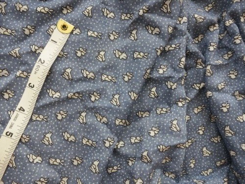 Bunny patterned rayon thedreamstress.com