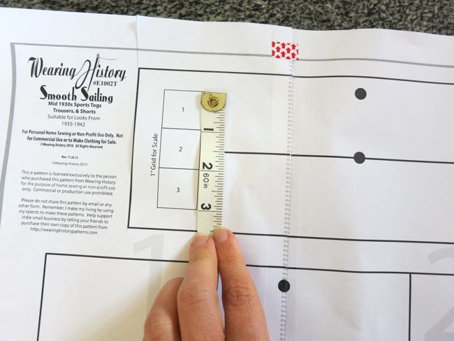 How to assemble print-at-home-patterns thedreamstress.com