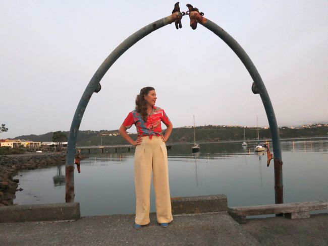 1930s/40s 'Smooth Sailing' trousers thedreamstress.com