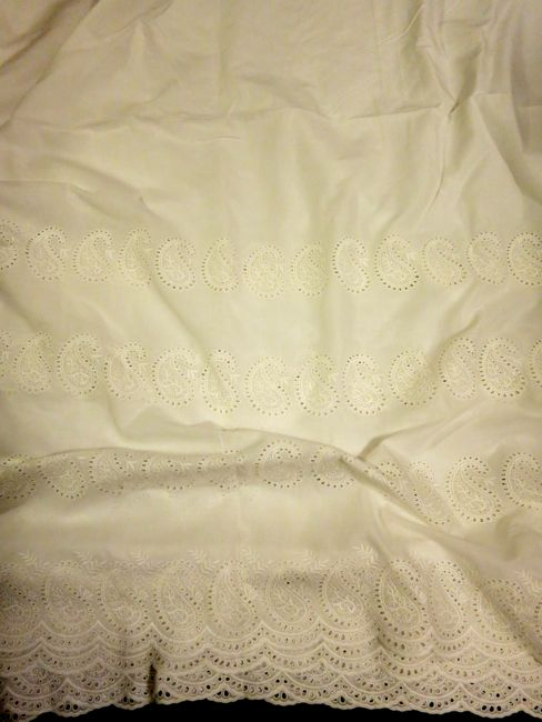 Paisley embroidered voile thedreamstress.com