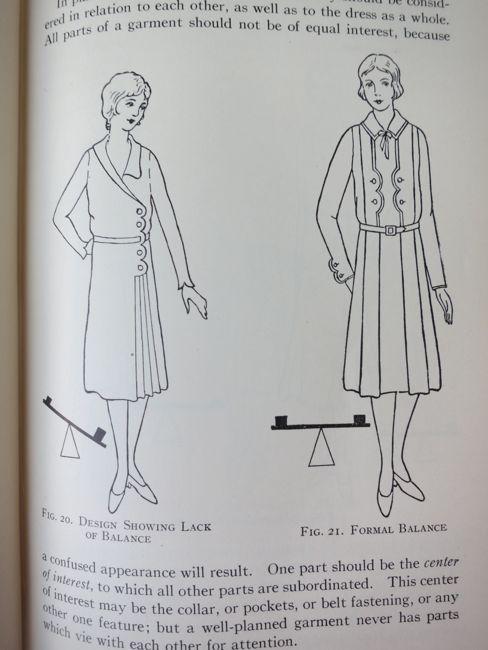 Fabrics & Dress 1930s textbook thedreamstress.com