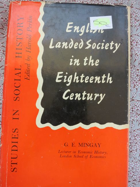 English Landed Society in the Eighteenth Century thedreamstress.com
