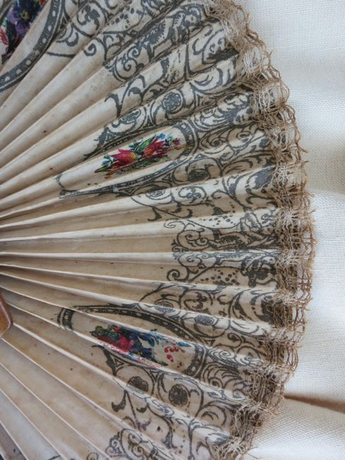 An antique souvenir fan thedreamstress.com
