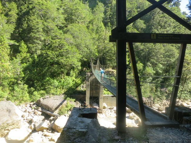 Charming Creek walkway, Ngakawau, West Coast, New Zealand