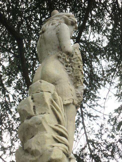 GM Reed statue, Albert Park, Auckland NZ, thedreamstress.com
