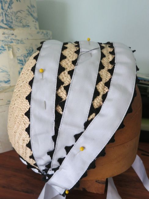Making an 1860s inspired hat thedreamstress.com