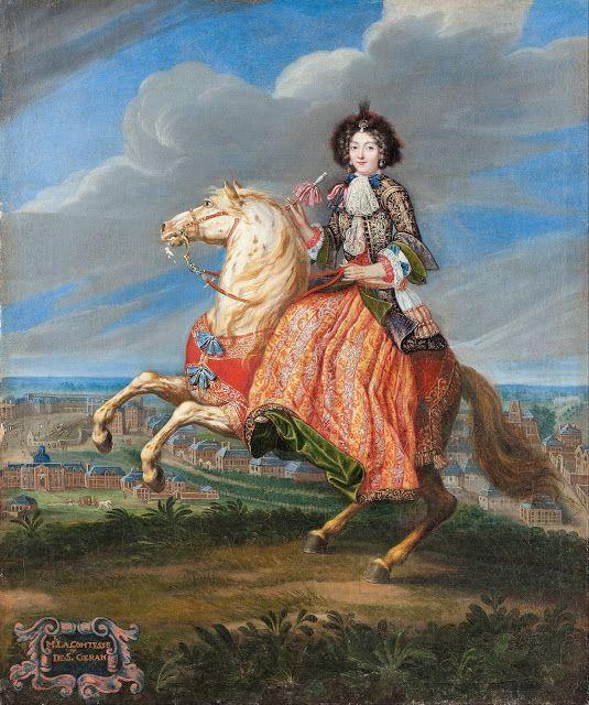 Madame La Comtesse de Saint Géran by Joseph Parrocel,1675 - 82