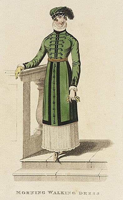 Morning Walking Dress, April 1812
