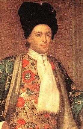 Portrait of Count Giovanni Battista Vailetti by Vittore Ghislandi (also known as Fra Galgario), ca 1740