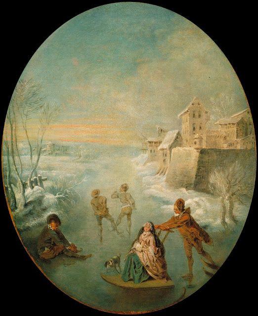 Winter,  Jean-Baptiste Pater, 1725