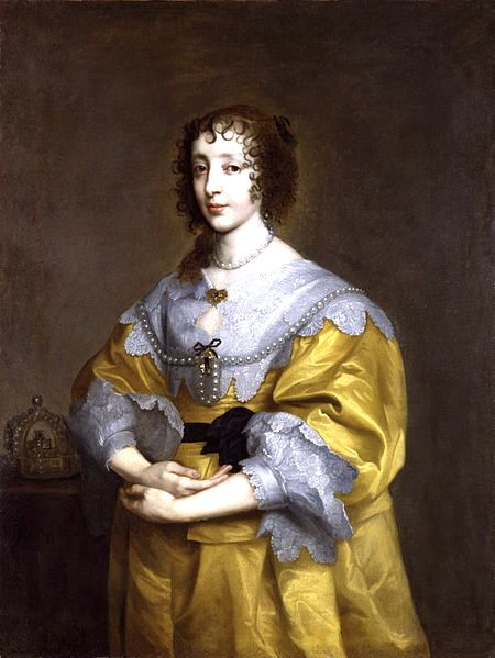 Queen Henrietta Maria, 1632, Anthony van Dyke