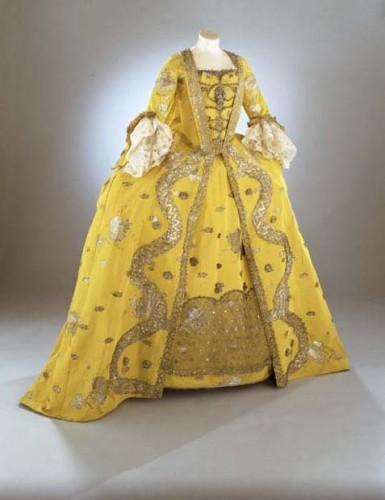 Robe a la francaise, 1750s, KCI?