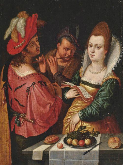 Musicians, Circle of Cornelis van Haarlem 1562-1638