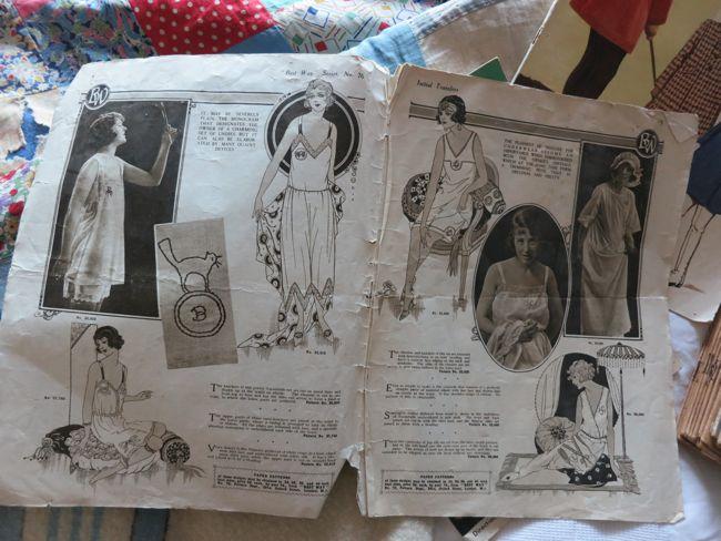 1920s fashion catalogue thedreamstress.com