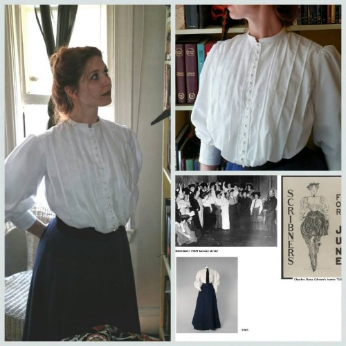 Lace, Edwardian Shirtwaist