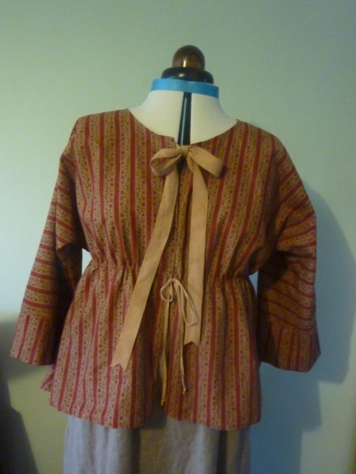 Penelope, short gown, 1760-1800