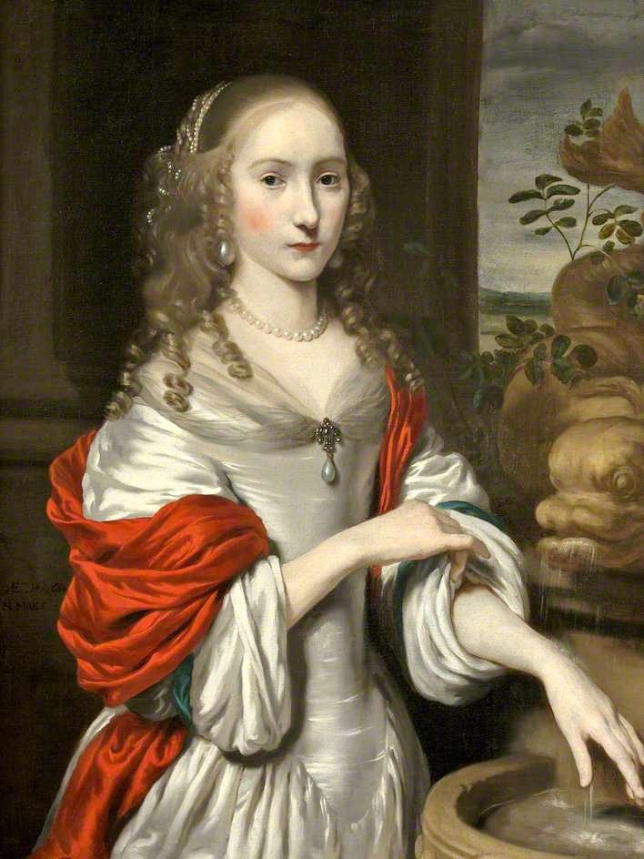 Young Lady by a Fountain, Nicolaes Maes 1664, Bristol Museum and Art Gallery; Supplied by The Public Catalogue Foundation