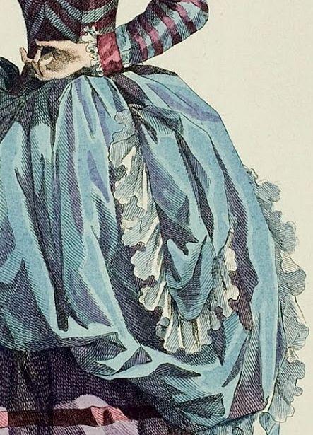 Galerie des Modes, 46e Cahier, 5e Figure, 1785