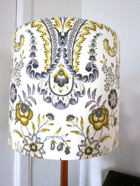Lampshade making at Made on Marion thedreamstress.com