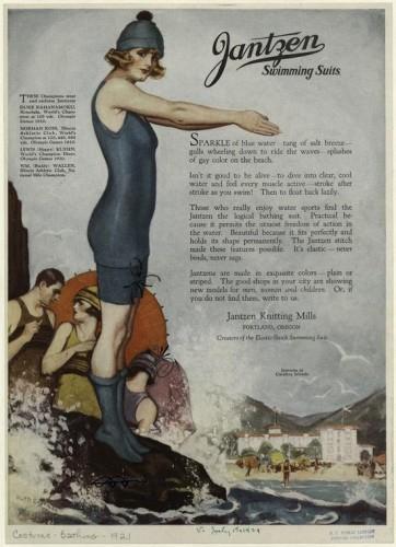 Jantzen Swimming Suits, 1922, NYPL