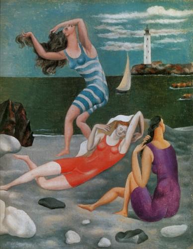 Les baigneuses (The Bathers), Pablo Picasso, 1918