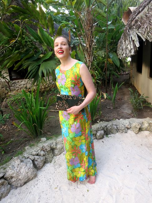 Watteau in Paradise 1960s dress thedreamstress.com