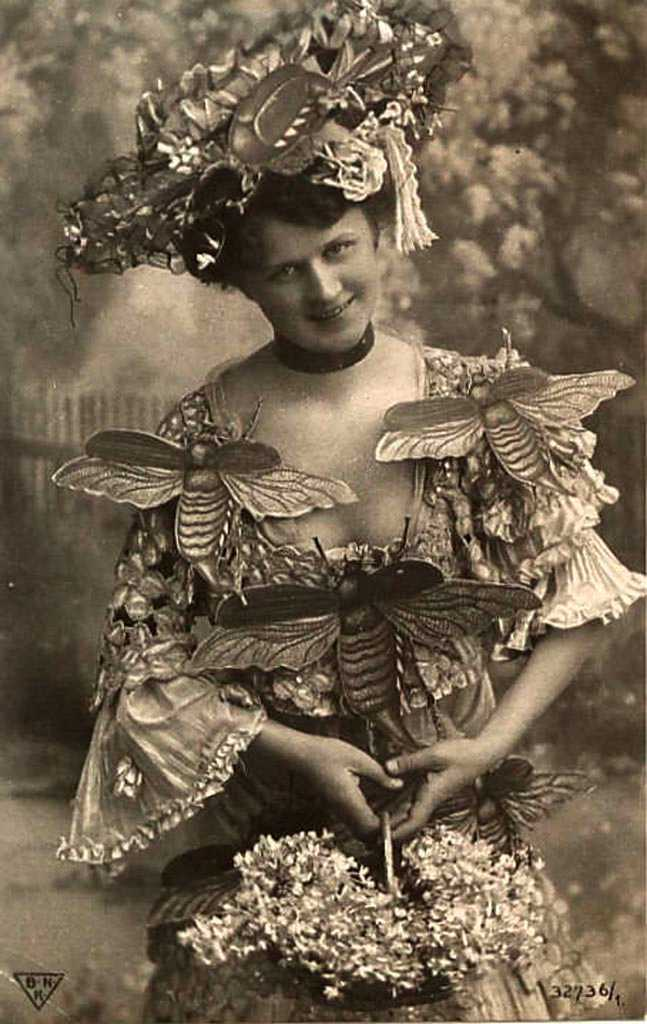 Fancy dress, circa 1900