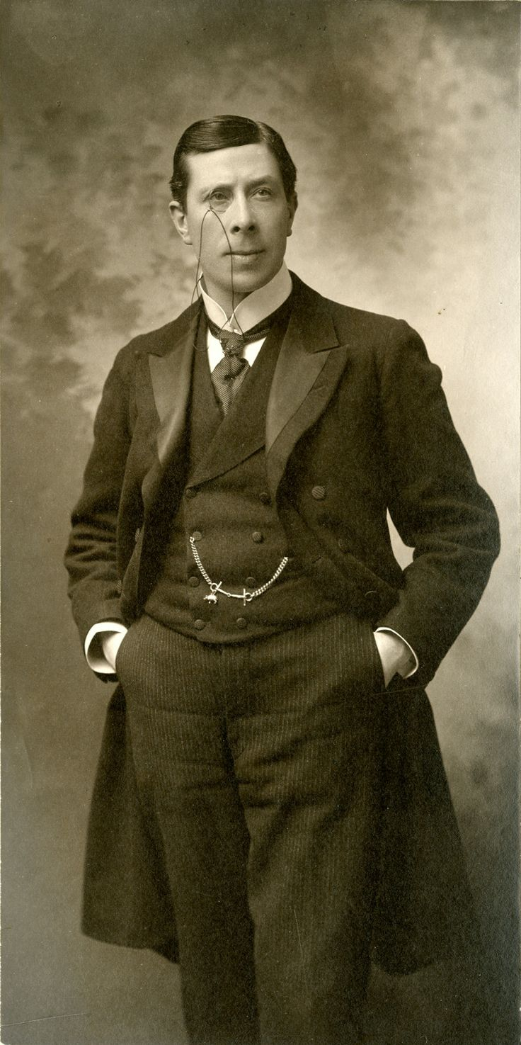 George Arliss, 1914, University of Washington Digital Collections