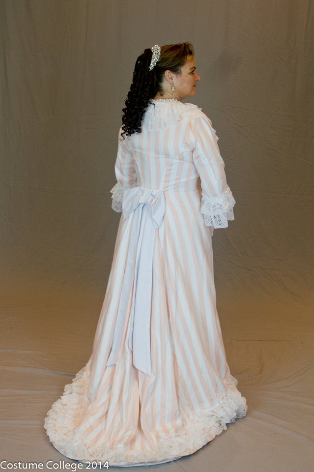 Amy's tea gown, HSF 14 Challenge #16