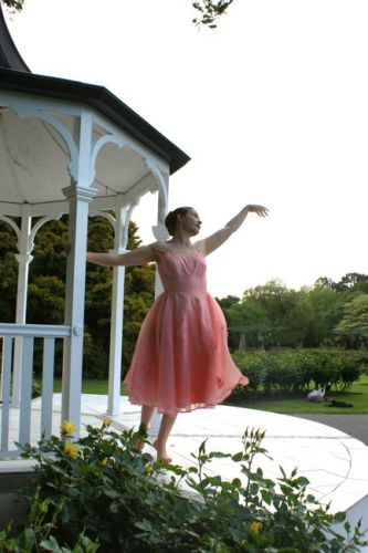 Butterick 6485 for a ballerina inspired dress thedreamstress.com