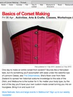 Corset class in Time out