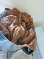 Dyeing fabric on the stovetop with iDye thedreamstress.com